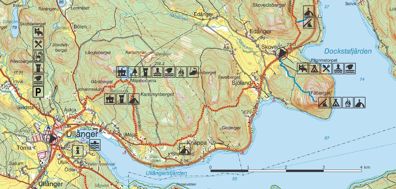 karta ullånger Section 6 | Höga Kusten karta ullånger