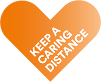 Keep a caring distance