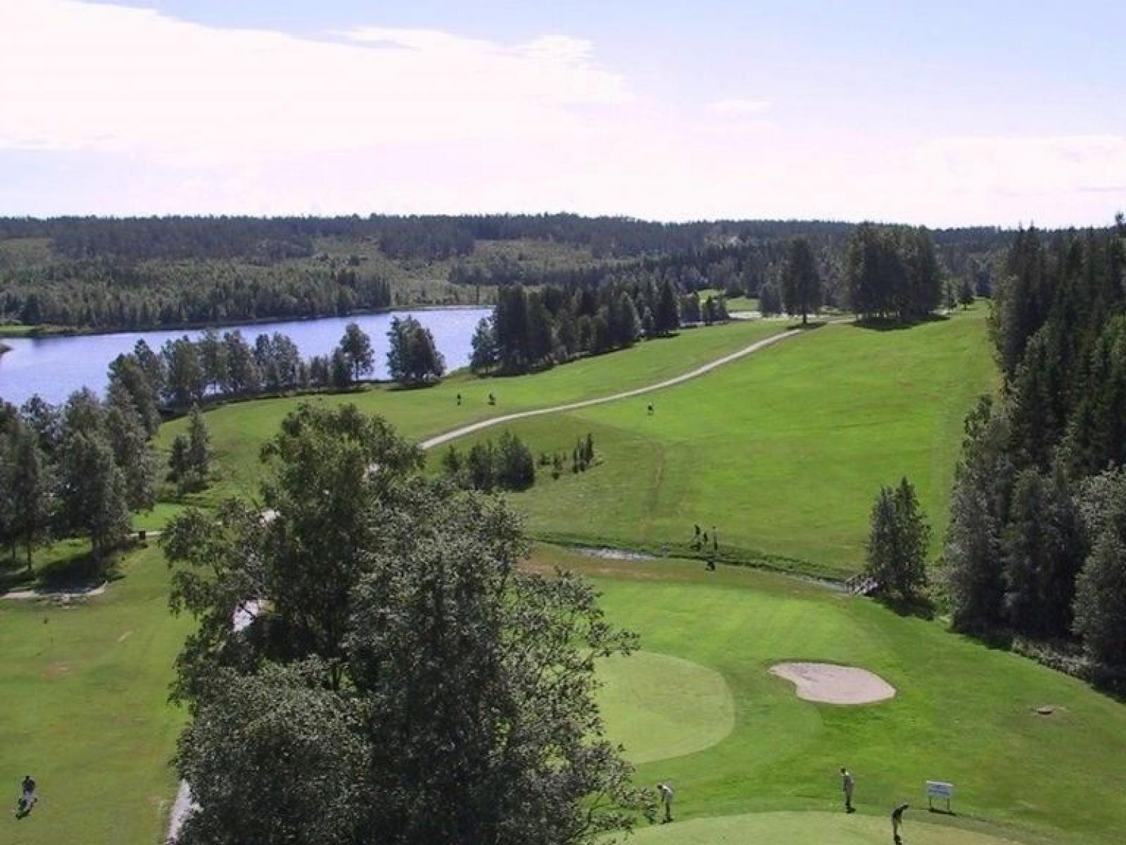 Puttom golfbana, hål 18