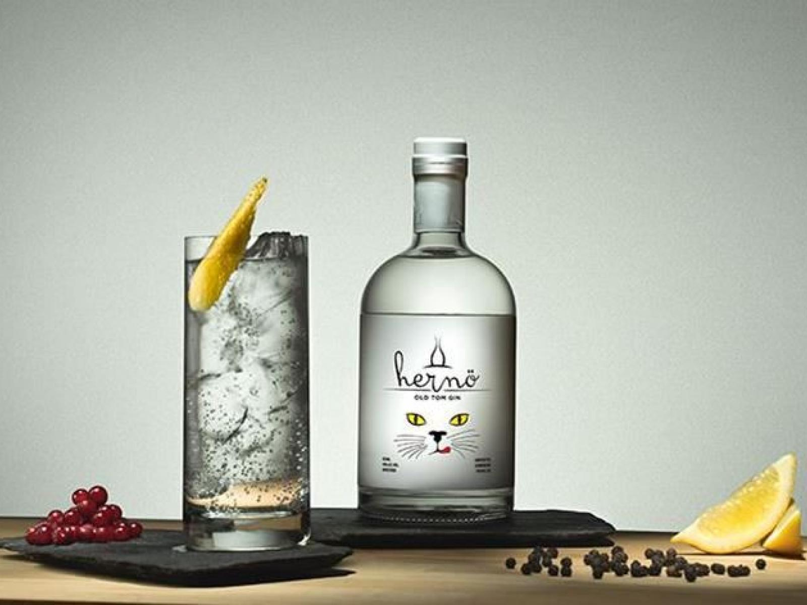 Hernö Old Tom Gin, awarded World's Best Gin for a Gin & Tonic 2020, IWSC