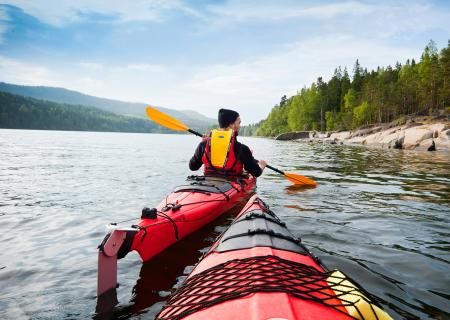 The High Coast Kayaking Route