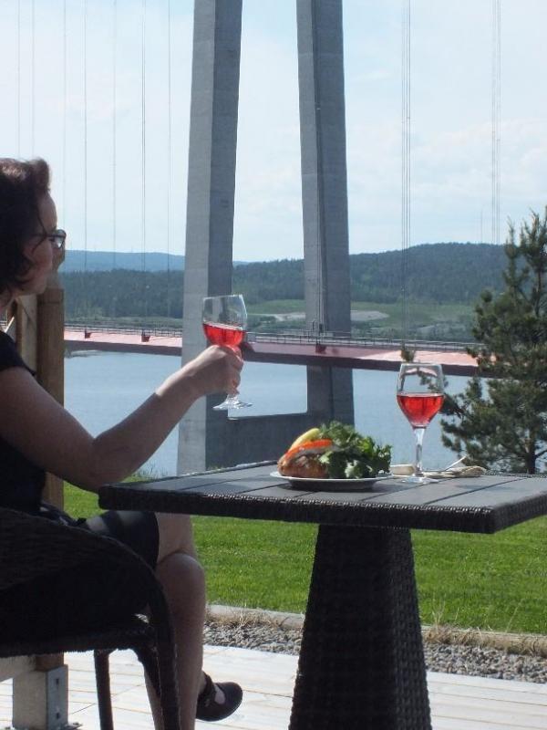höga kusten hotell vinprovning