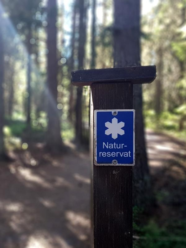 Accessible nature reserves