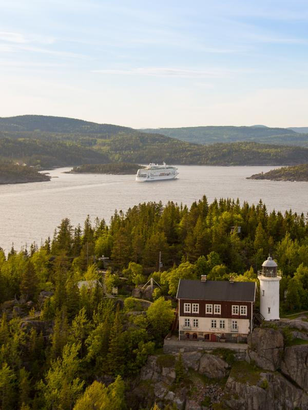 cruises in the high coast sweden